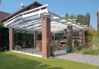 Terrassenüberdachung mit Dachüberstand in Willich Überdachung in Willich