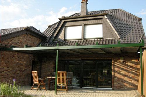 Terrassenüberdachung in Grevenbroich