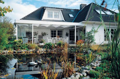 Terrassenüberdachung in Kempen